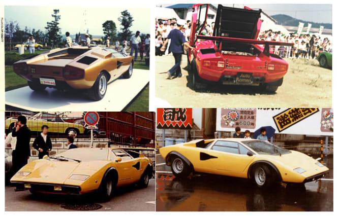 スーパーカーショー Lamborghini Countach