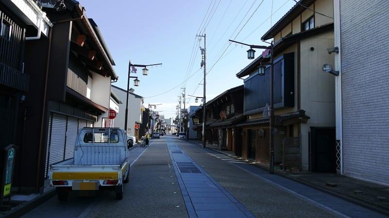 勝山散策3 (福井県勝山市) 本町通り商店街 - おでかけたいむす