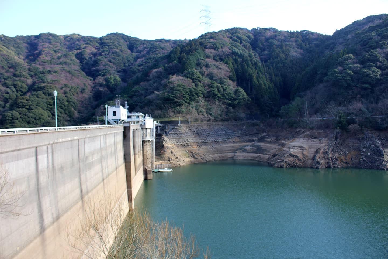 南畑ダム、貯水率10%台に 平成大渇水以来(1月22日更新 ...