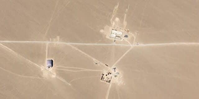 中国新疆ウイグル自治区核ミサイル基地,核ミサイル,核兵器,大陸間弾道ミサイル,ICBM,中国核兵器,