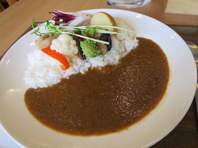 スパイシー野菜カレー