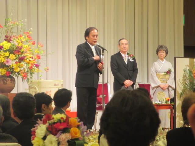 相川宗一前さいたま市長受章祝賀...