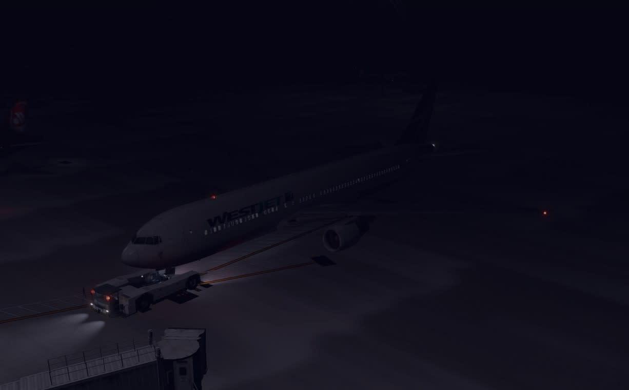 吹雪の中のフライト - フライトシミュレーターの世界