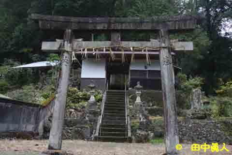 旧西吉野村川岸の八幡神社 - マ...