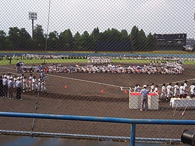 第47回長野市少年野球大会 開会式