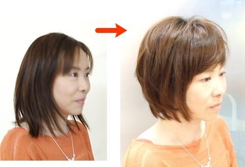 東京 横浜のパーソナルカラー,骨格診断,メイクレッスン/パーソナルカラー診断/似合う髪型似合うヘアスタイル 40代50代