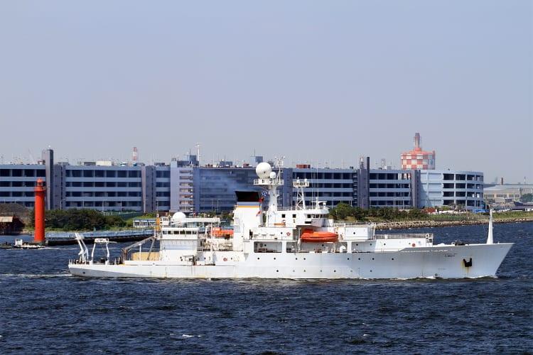 MSC 海洋観測艦 T-AGS-61 「 SUM...