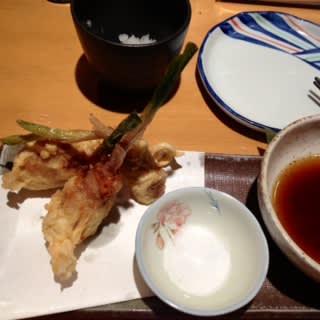 谷中生姜の天ぷら