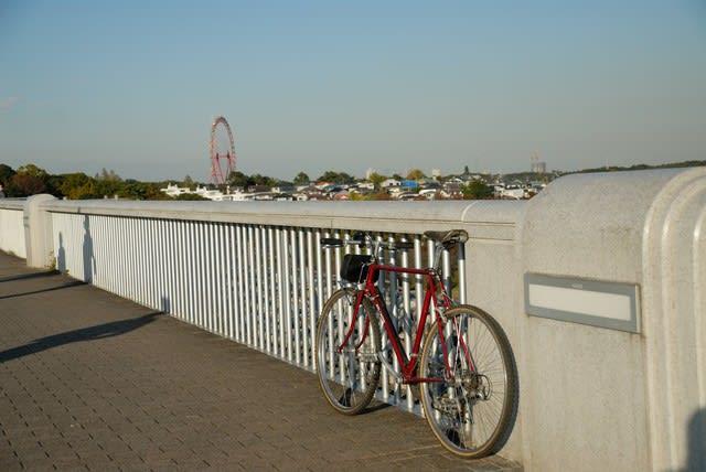 荒川 ランドナー サイクリング