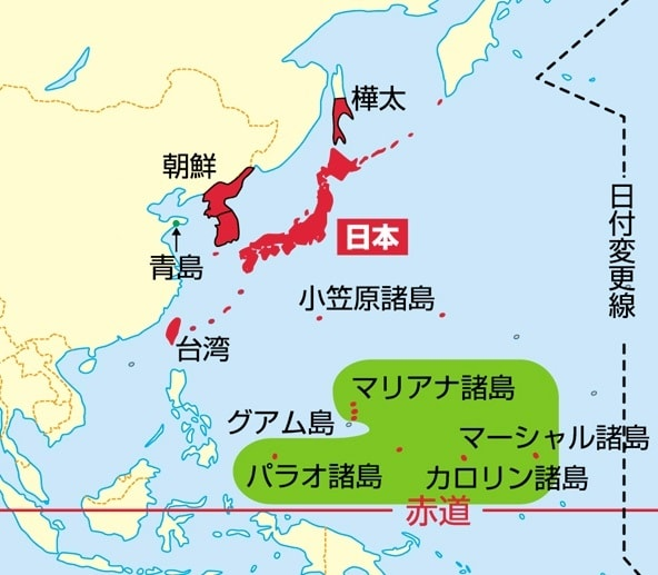 南洋諸島【地理・岩水】