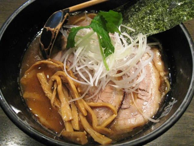 「醤・楓麺 チャーシュー」
