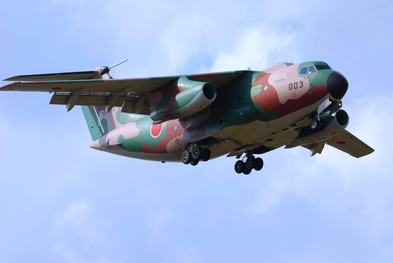 C-1 輸送機【岩水・防衛省装備】