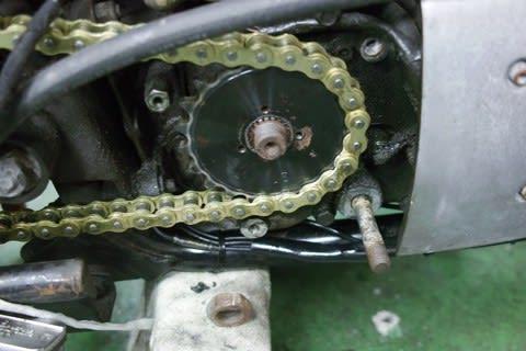 ソフテイル フロントフォークオイル漏れ修理
