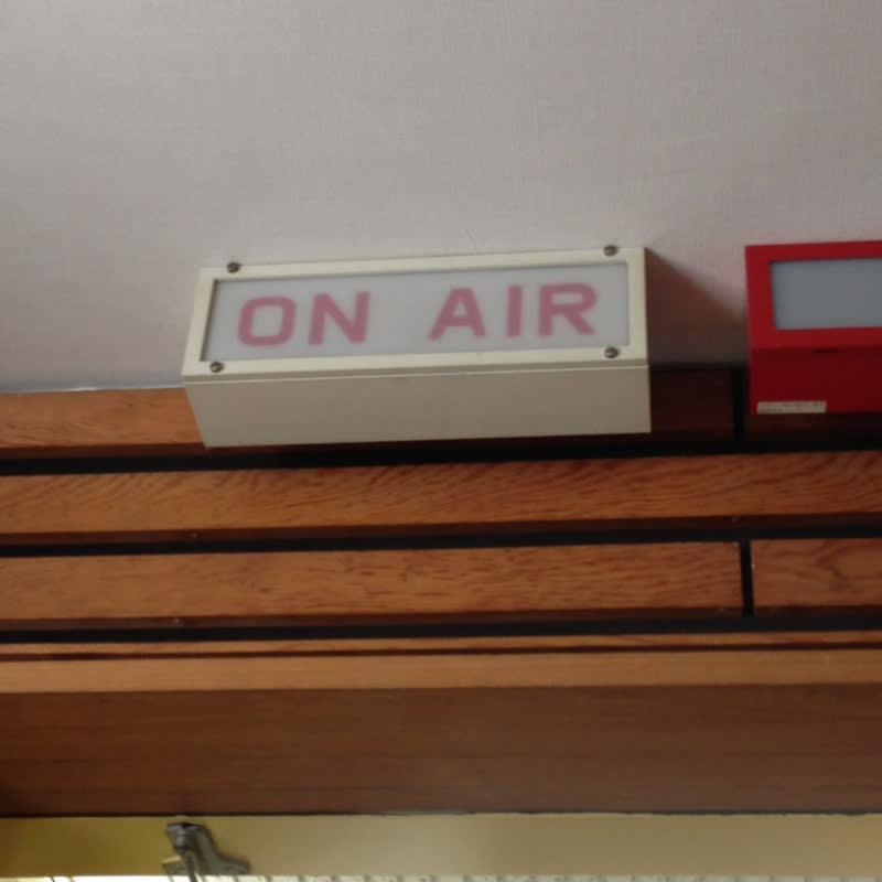 毎週月曜日はラジオ出演