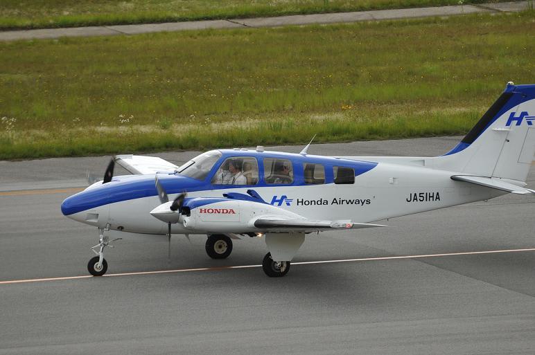 広島空港~小型機(セスナ・ビー...