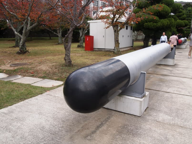九三式魚雷 大日本帝国海軍の酸素魚雷 - 観光列車から! 日々利用の ...