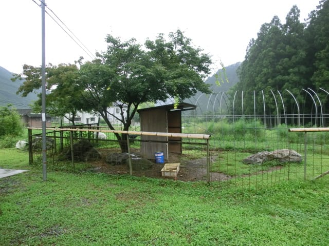 メーメーちゃんの小屋
