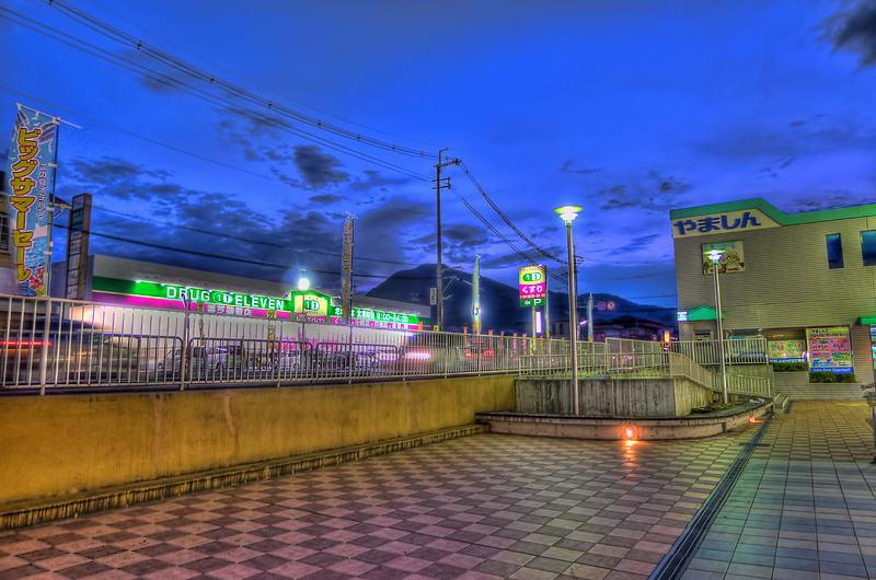 夜のジャンボスクエア香芝からニ上山を望む/夜間撮影,スーパー ...
