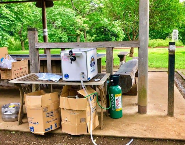 電気が無くても使える生ビールサーバーとは