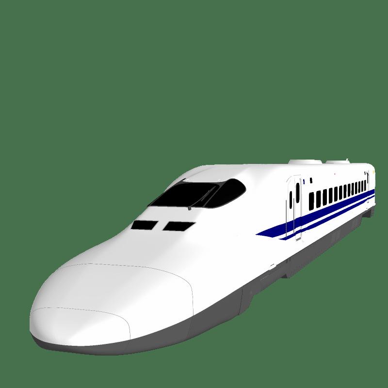 新幹線のイラスト ベスとpc