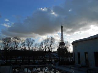 2017年パリ旅行(7)パリ市立近...