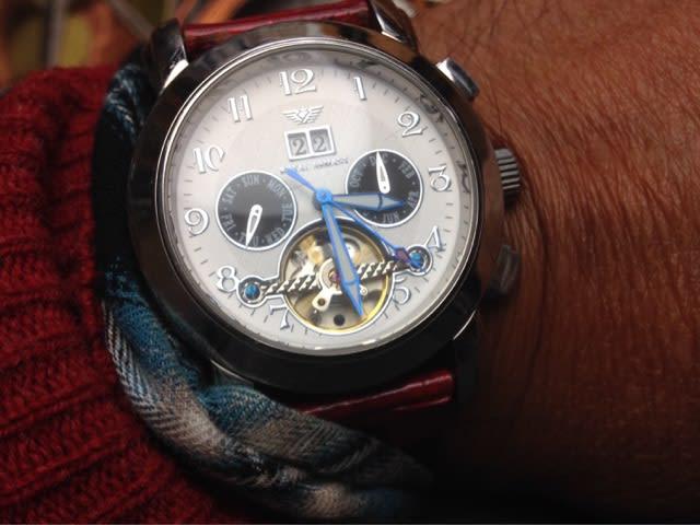 the latest c3633 38e97 アルマーニの機械式腕時計の修理 - もの創り アドリブ工房日誌