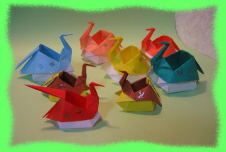 クリスマス 折り紙 折り紙 入れ物 : divulgando.net