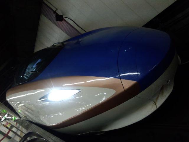 試運転中のE7  系新幹線を上野駅でGet!