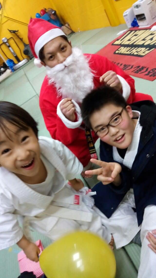 北海道 札幌 空手 クリスマス会