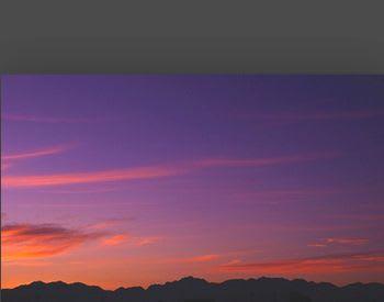 雲 の たなびき たる 細く たる ち だ 紫