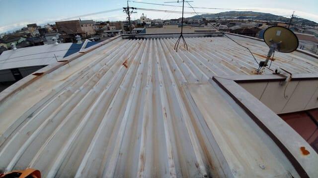 屋根塗装リフォーム前の写真