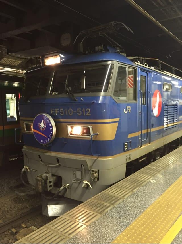 時 列車 た から の 発 夜行 降り 上野
