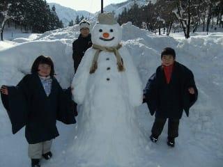 雪だるまコンテスト結果発表!