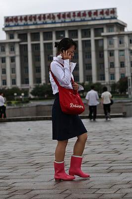 Fashion Girl On Phone