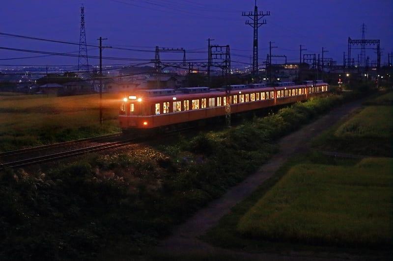 夜のラビットカー/近鉄南大阪線...