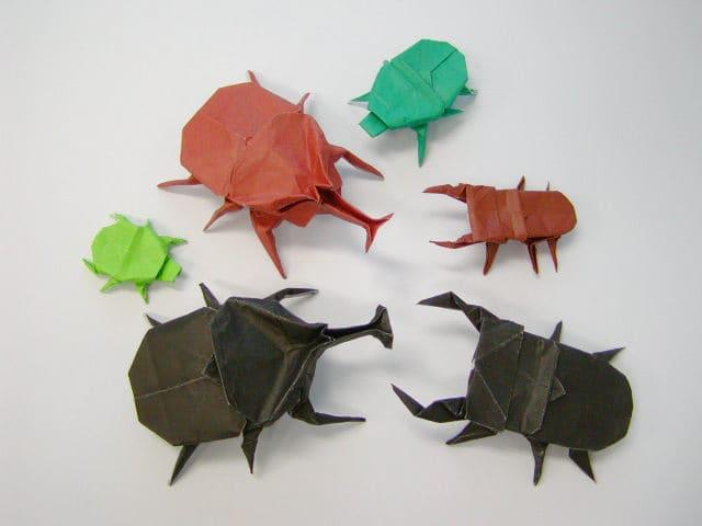 クリスマス 折り紙 折り紙 カブトムシ : divulgando.net