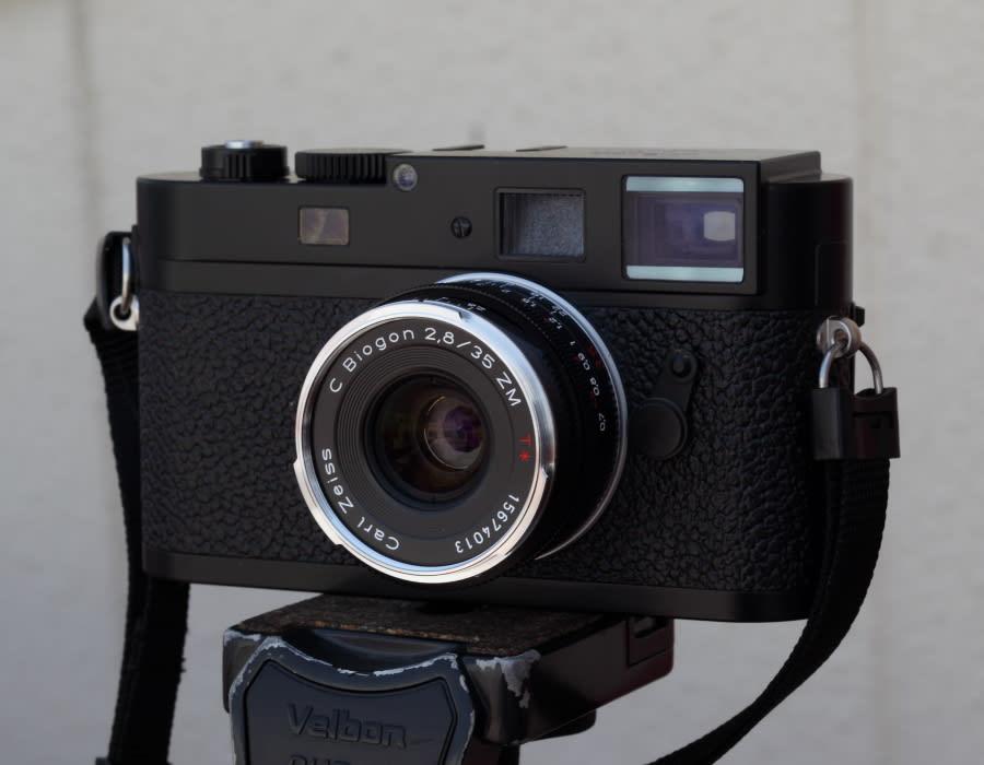 20120429 新人登場 02 Carl Zeiss C-Biogon 35mm F2 8 ZM - もぐらもち