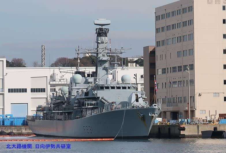 G7X撮影速報】イギリス海軍アー...