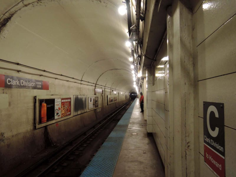 Clark_and_division_station