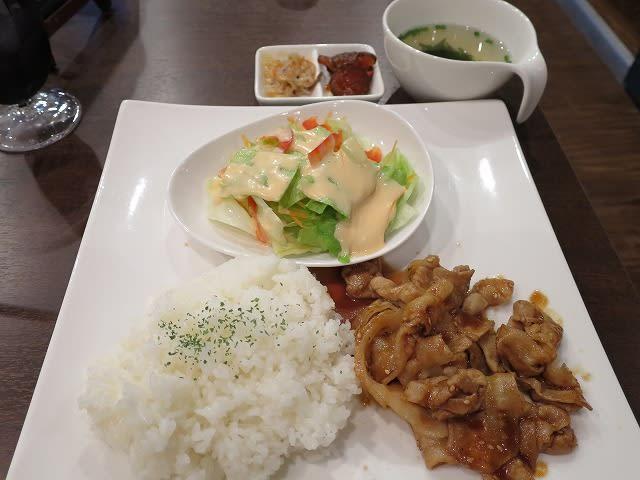 日替わりランチ(豚カルビ焼肉)