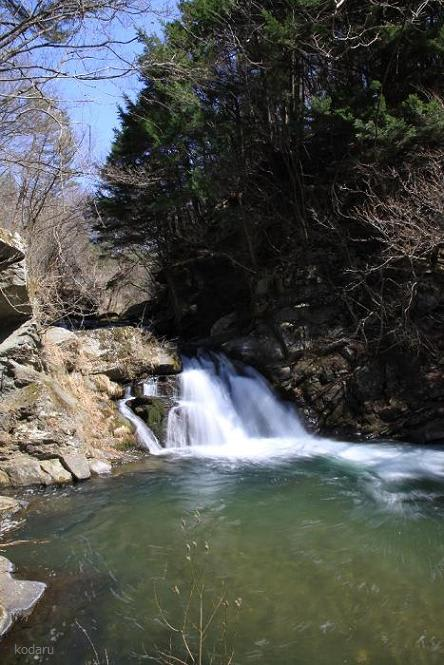 長野県の滝 北相木村の滝 (4) 雪瀬の滝 - 長野県の滝