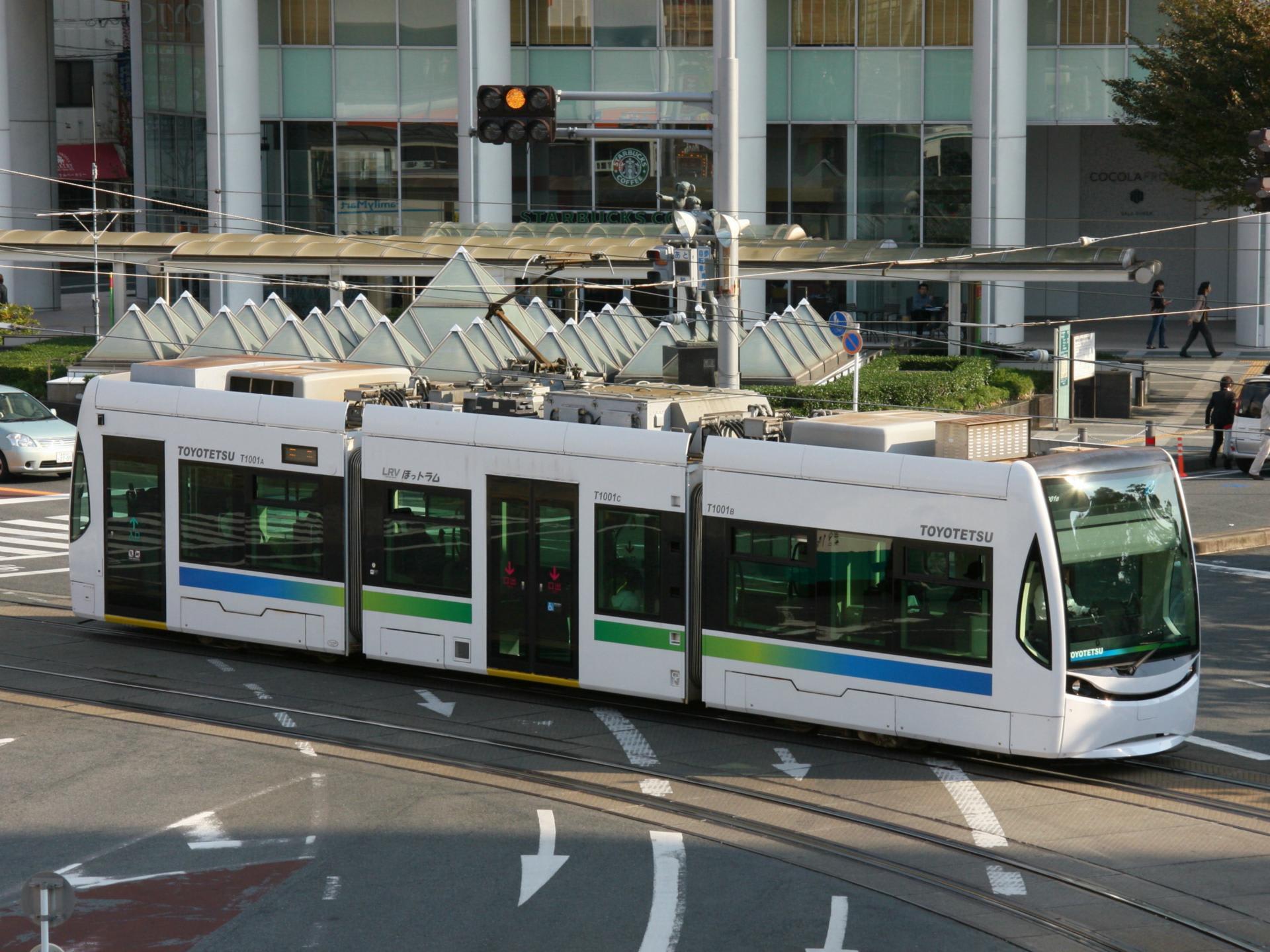 豊橋鉄道T1000形 ほっトラム・・...