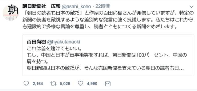 百田 尚樹 ツイッター