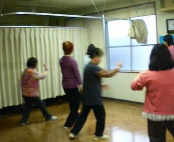3月の太極拳教室