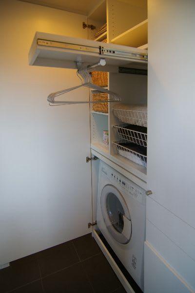 洗濯機仮置き