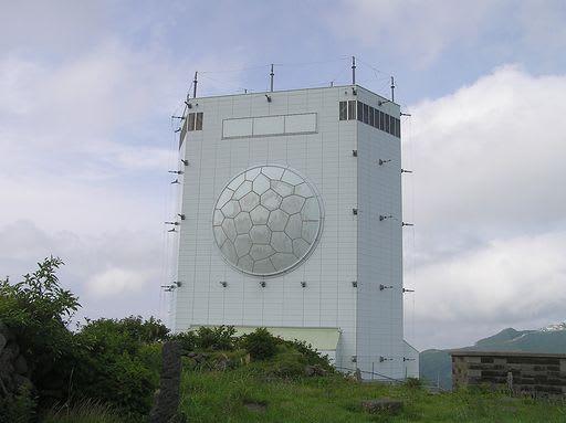 ガメラレーダーの山・妙見山 - ...