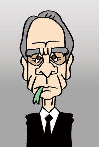 トミー・リー・ジョーンズの似顔絵