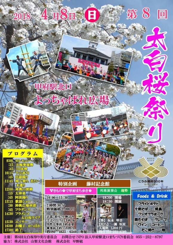 2018年太白桜祭り
