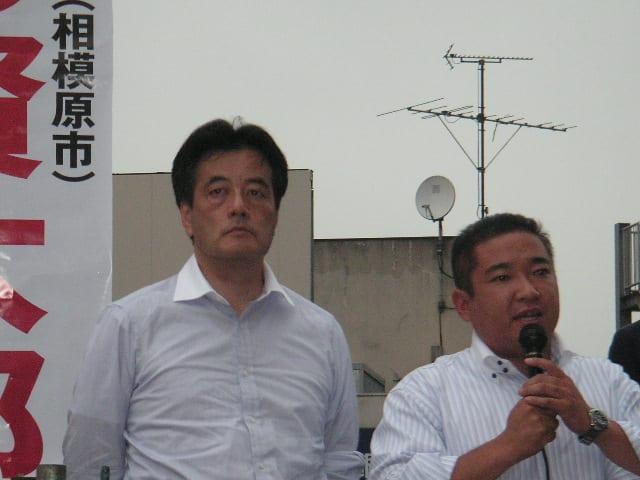 ☆ 岡田克也さんと蓮舫参議院議員...