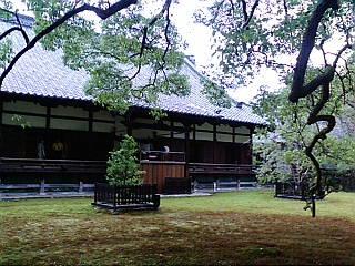 京都、青蓮院門跡に来ています。